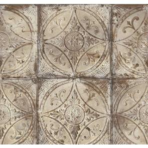 Ταπετσαρία Τοίχου Μεταλλικό Πλακάκι - Galerie, Grunge - Decotek G45373