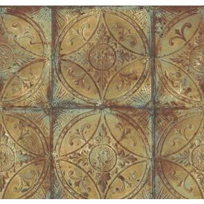 Ταπετσαρία Τοίχου Μεταλλικό Πλακάκι - Galerie, Grunge - Decotek G45376
