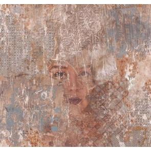 Ταπετσαρία Τοίχου Πρόσωπο - Galerie, Grunge - Decotek G45380