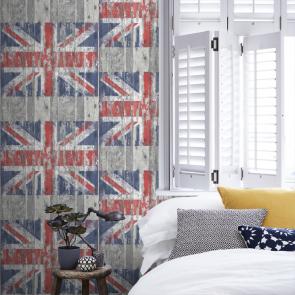 Ταπετσαρία Τοίχου Σημαία - Galerie, Grunge - Decotek G45382