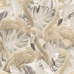 Ταπετσαρία Τοίχου Φλαμίνγκο - Galerie, Global Fusion - Decotek G56404