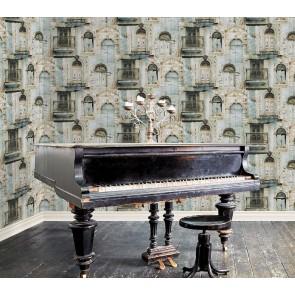 Ταπετσαρία Τοίχου Παλιό σπίτι - Galerie, Global Fusion - Decotek G56438