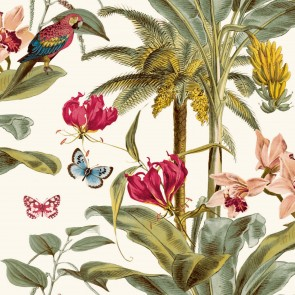Φλοράλ Ταπετσαρία Τοίχου – Grandeco, Jungle Fever  – Decotek jf2001