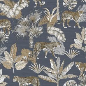 Φλοράλ Ταπετσαρία Τοίχου – Grandeco, Jungle Fever  – Decotek jf2102