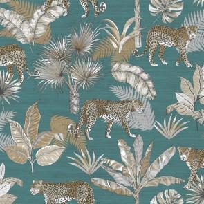 Φλοράλ Ταπετσαρία Τοίχου – Grandeco, Jungle Fever  – Decotek jf2104