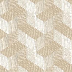Ταπετσαρία Τοίχου Κύβοι,3D Γεωμετρικά Σχέδια – Grandeco, Jungle Fever  – Decotek jf3301