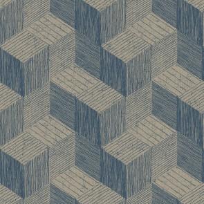 Ταπετσαρία Τοίχου Κύβοι,3D Γεωμετρικά Σχέδια – Grandeco, Jungle Fever  – Decotek jf3303