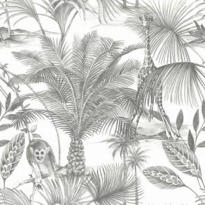 Ταπετσαρία Τοίχου Φλοράλ, Ζούγκλα – Grandeco, Jungle Fever  – Decotek jf3501