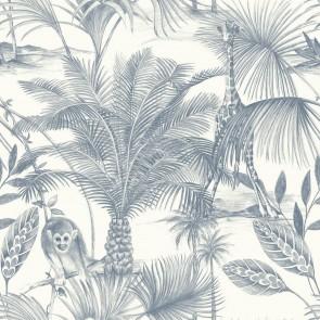 Ταπετσαρία Τοίχου Φλοράλ, Ζούγκλα – Grandeco, Jungle Fever  – Decotek jf3502
