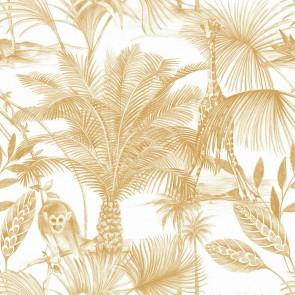 Ταπετσαρία Τοίχου Φλοράλ, Ζούγκλα – Grandeco, Jungle Fever  – Decotek jf3503