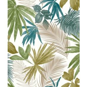 Ταπετσαρία Τοίχου Φλοράλ – Grandeco, Jungle Fever  – Decotek jf3602
