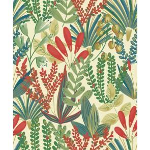 Ταπετσαρία Τοίχου Φλοράλ – Grandeco, Jungle Fever  – Decotek jf3701