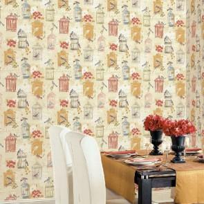 Ταπετσαρία Τοίχου Κλουβιά - Galerie, Kitchen Style 3 - Decotek KE29945
