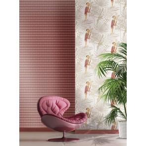 Φλοράλ Ταπετσαρία Τοίχου με Παπαγάλους – Parato, Casa Mood– Decotek p27001 (1005x53cm)