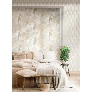 Φλοράλ Ταπετσαρία Τοίχου με Παπαγάλους – Parato, Casa Mood - Decotek p27002  (1005x53cm)
