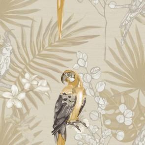 Φλοράλ Ταπετσαρία Τοίχου με Παπαγάλους – Parato, Casa Mood– Decotek p27003  (1005x53cm)