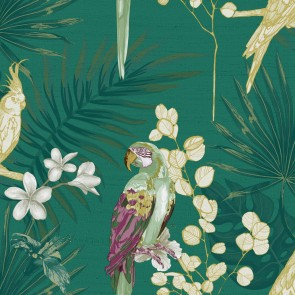 Φλοράλ Ταπετσαρία Τοίχου με Παπαγάλους – Parato, Casa Mood– Decotek p27004  (1005x53cm)