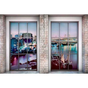 Φωτοταπετσαρία Τοίχου Παράθυρο στην Νέα Υόρκη - Komar - Decotek XXL4-017