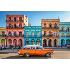 Φωτοταπετσαρία Τοίχου Κούβα, Αβάνα - Komar - Decotek XXL4-042