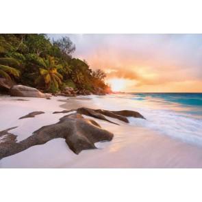Φωτοταπετσαρία Τοίχου Ηλιοβασίλεμα στην Παραλία - Komar - Decotek XXL4-048