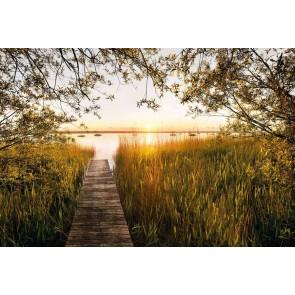 Φωτοταπετσαρία Τοίχου Ηλιοβασίλεμα στην Λίμνη - Komar - Decotek XXL4-052