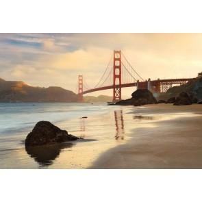 Φωτοταπετσαρία Τοίχου Γέφυρα Golden Gate - Komar - Decotek XXL4-054