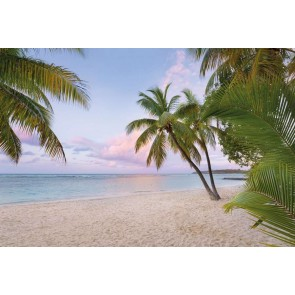 Φωτοταπετσαρία Τοίχου Παραλία με Φοίνικες - Komar - Decotek xxl4-528