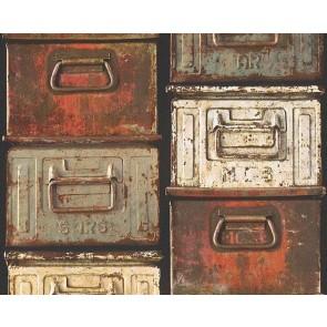 Ταπετσαρία Τοίχου Μοντέρνα, Κουτιά - AS Creation,Authentic Walls - Decotek 302201
