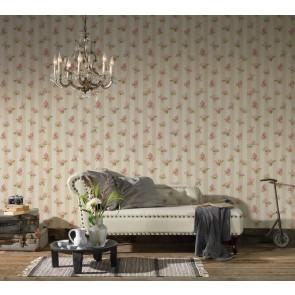 Ταπετσαρία Τοίχου Φλοράλ,Ρίγα - AS Creation, Romantica 3 - Decotek 304474