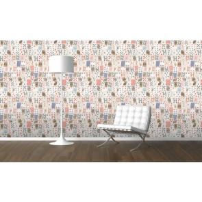 Ταπετσαρία Τοίχου Τράπουλα- 1 Wall - Decotek  W10MCARD01
