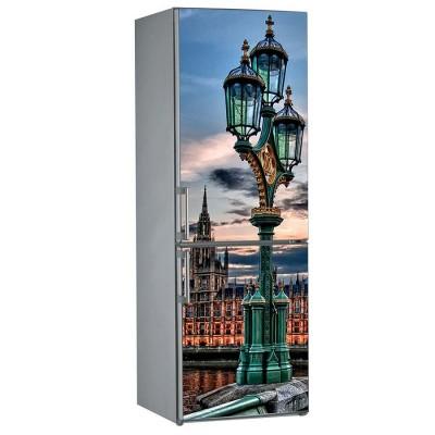 Αυτοκόλλητο Ψυγείου English Lights - Decotek 13826