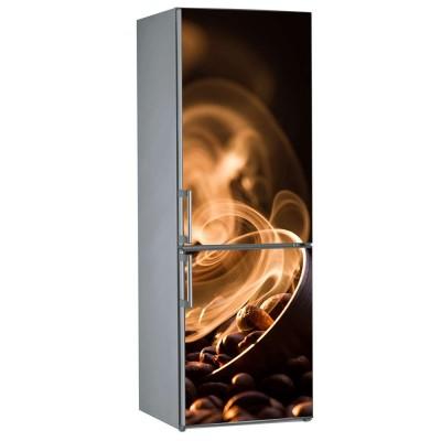Αυτοκόλλητο Ψυγείου Καφές - Decotek 09884