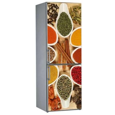 Αυτοκόλλητο Ψυγείου Spices & Cinnamon - Decotek 15220