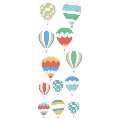 Παιδικό Αυτοκόλλητο Αερόστατα - Decotek 12626