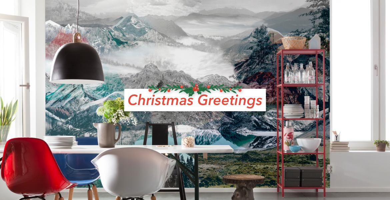 Φωτοταπετσαρίες Decotek - Απίθανα Σχέδια για τον Τοίχο με Χειμωνιάτικη Διάθεση!
