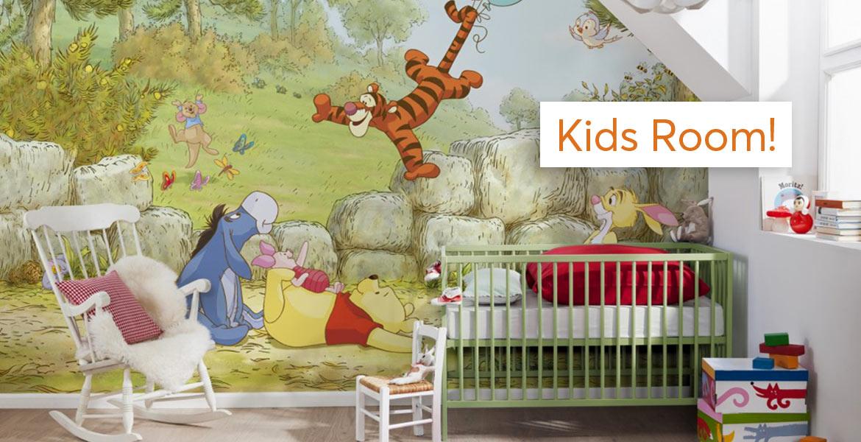 Πολύχρωμες Ταπετσαρίες για Χαρούμενα Παιδιά & Μαθητές, στις Kαλύτερες Τιμές! - Happy Kids Room with Decotek